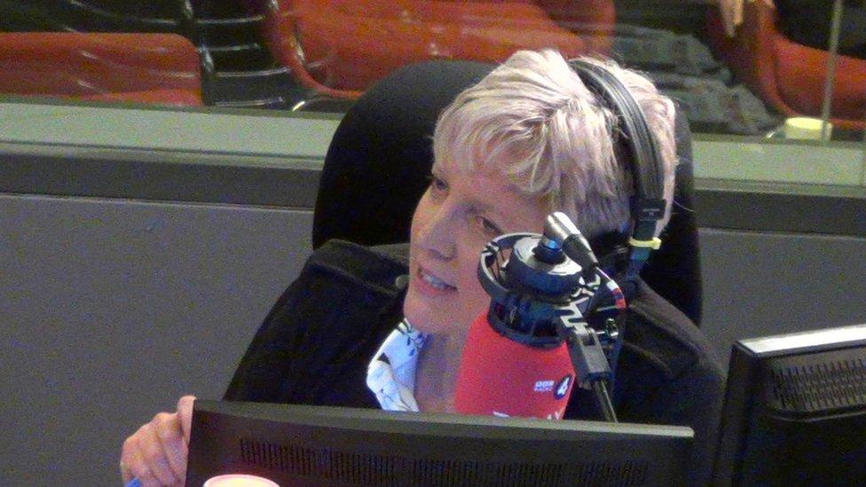 """Gracie abordó el tema de su renuncia cuando copresentaba el programa """"Today"""" de la BBC."""