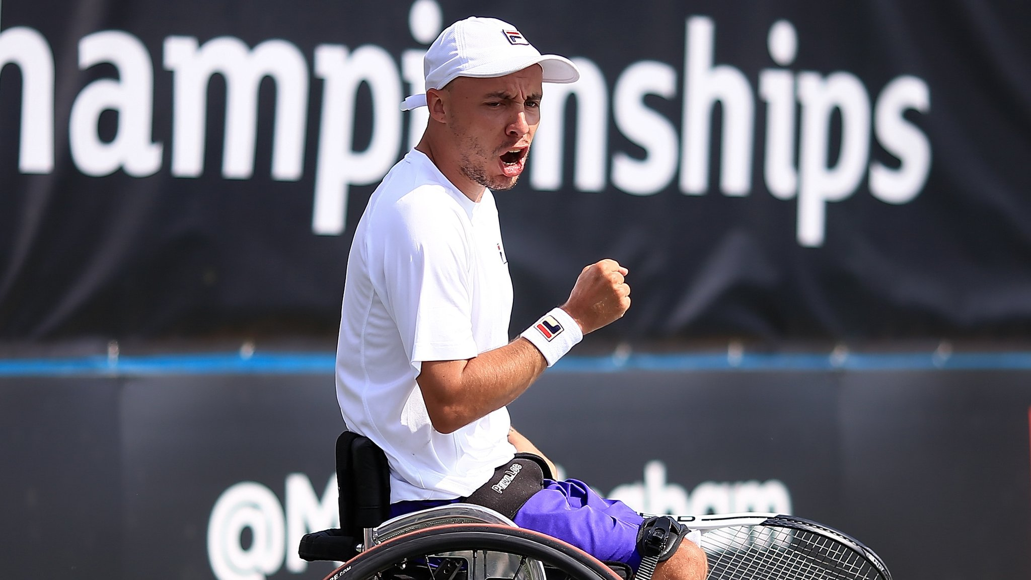 Lapthorne reaches British Open quad singles final