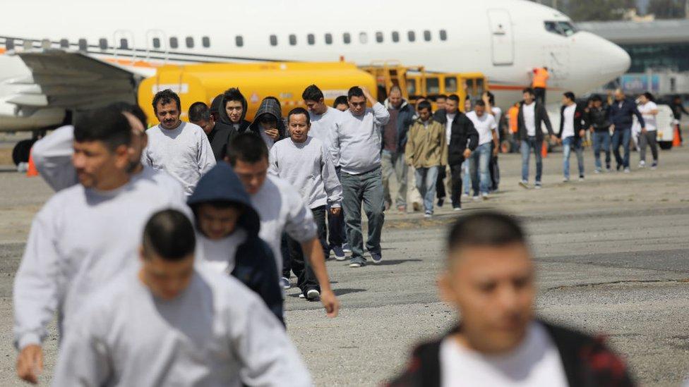 En 2017, fueron expulsados 33.570 guatemaltecos de Estados Unidos.