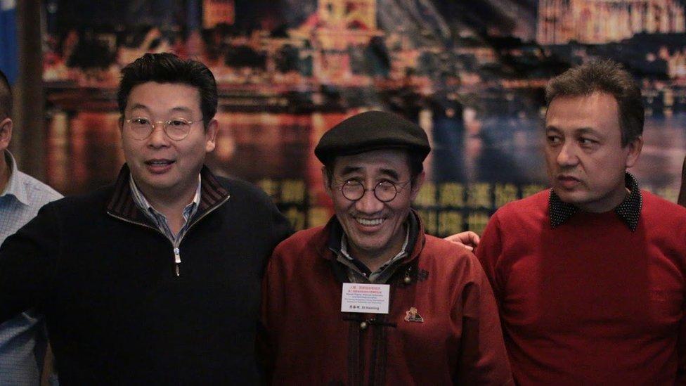 南蒙古呼拉爾台的主席席海明