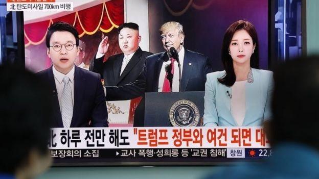 ترامب ويونغ أون