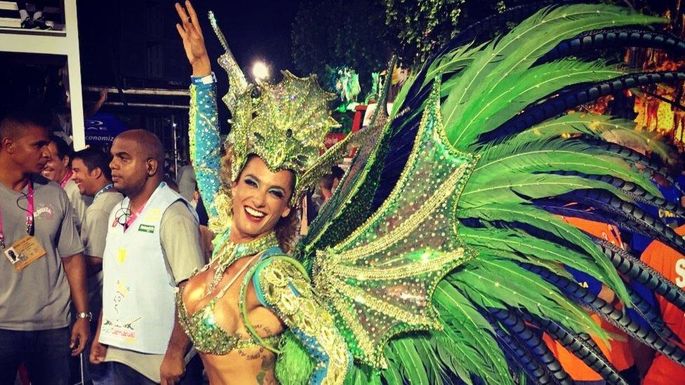 Rio Carnival: The UK woman leading the dance in Brazil
