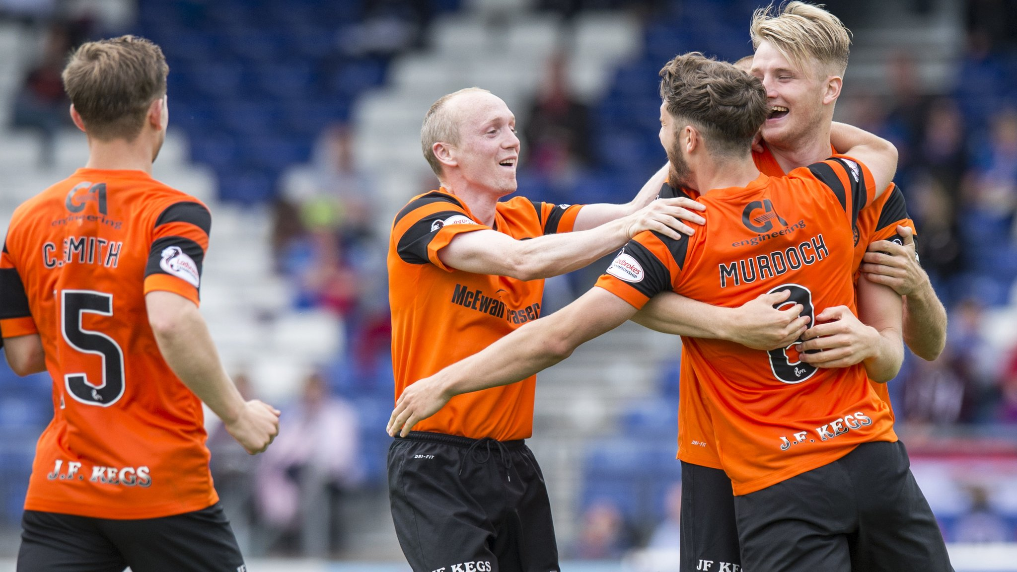 Inverness CT 1-1 Dundee United (1-4 pens)