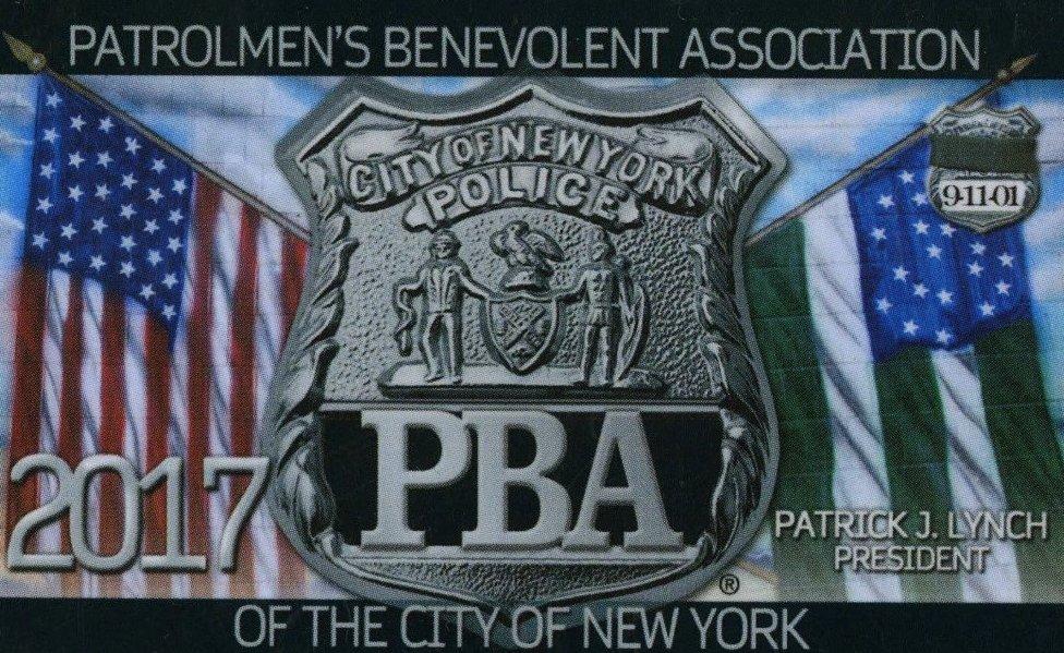 La tarjeta emitida por PBA (Foto: NY Post)