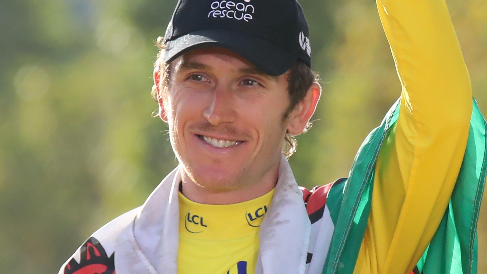 Geraint Thomas: Tour de France champion's long road back to normality