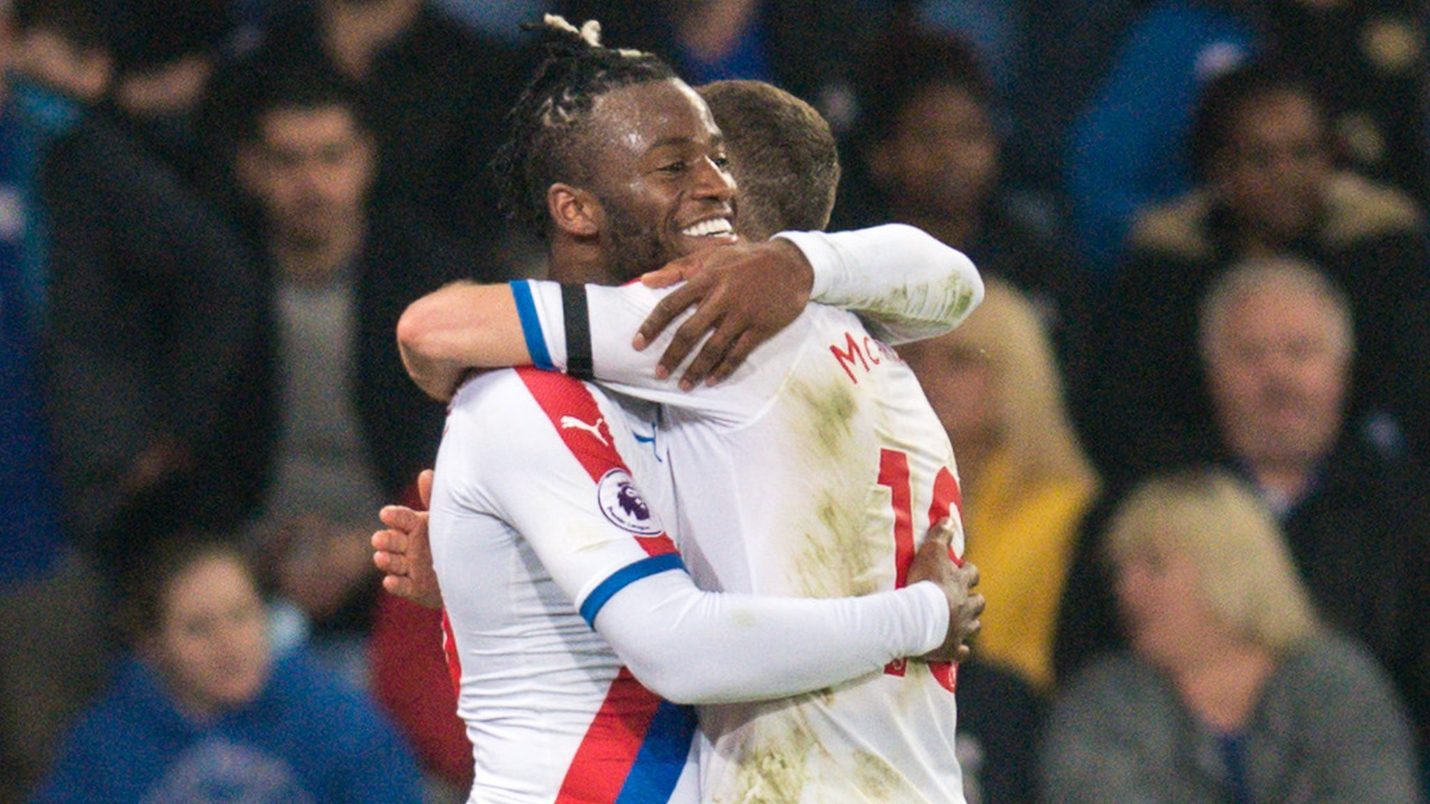 reputable site f06f4 62fe9 Leicester 1-4 Crystal Palace  Clinical Eagles beat Foxes - Michy Batshuayi,  Wilfried Zaha and Luka Milivojevic all get on the scoresheet as Crystal  Palace ...
