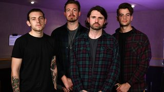 BBC - Newsbeat - Lower Than Atlantis Mike: 'This band defines me as a human being'