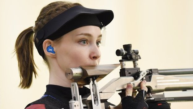 Seonaid McIntosh emulates sister with European Shooting Championships gold