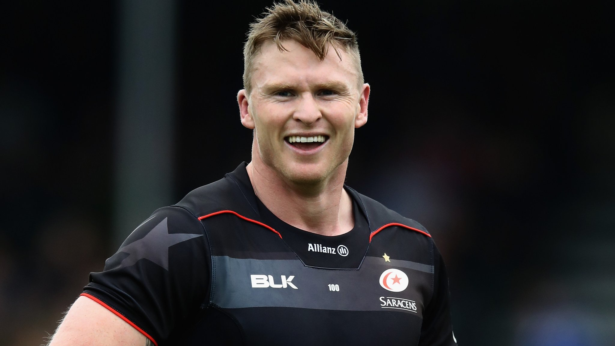 Chris Ashton: Saracens winger targets England return after ban for biting