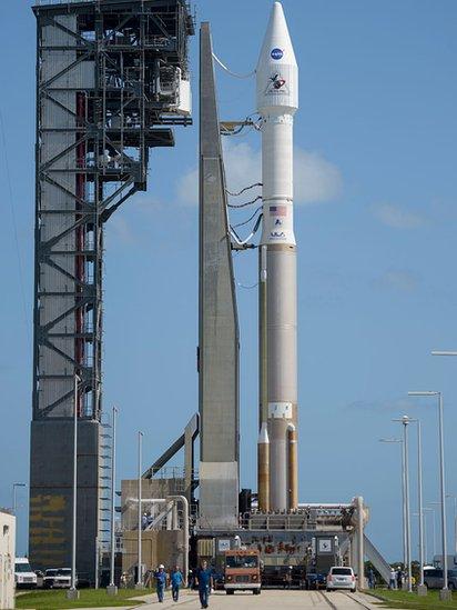 Los cohetes espaciales estadounidenses Atlas V dependen de los motores rusos RD-180.