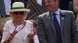 Camilla, Duchess of Cornwall at Wimbledon