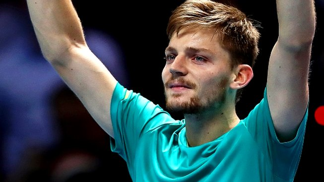 Goffin stuns Federer, will face Dimitrov in final