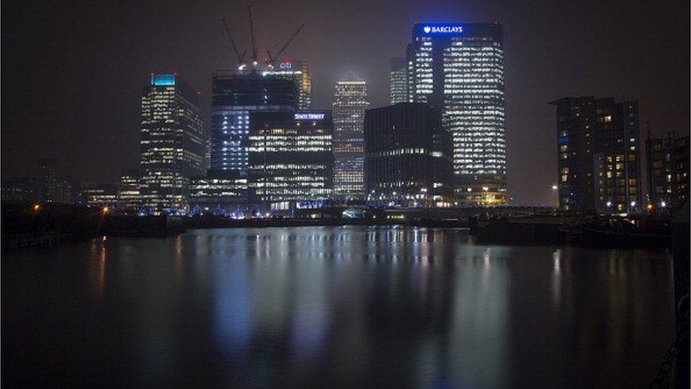 Barclays Bank Canary Wharf