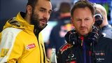 Cyril Abiteboul and Christian Horner