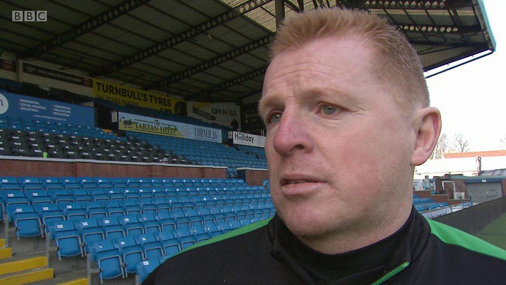 Kilmarnock 2-2 Hibernian: We should be able to send referees off - Neil Lennon