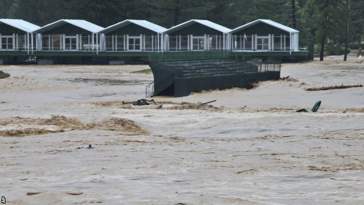 PGA Tour cancels Greenbrier Classic after serious floods in West Virginia