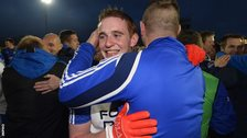 Aaron Devlin also played for the University of Ulster Jordanstown
