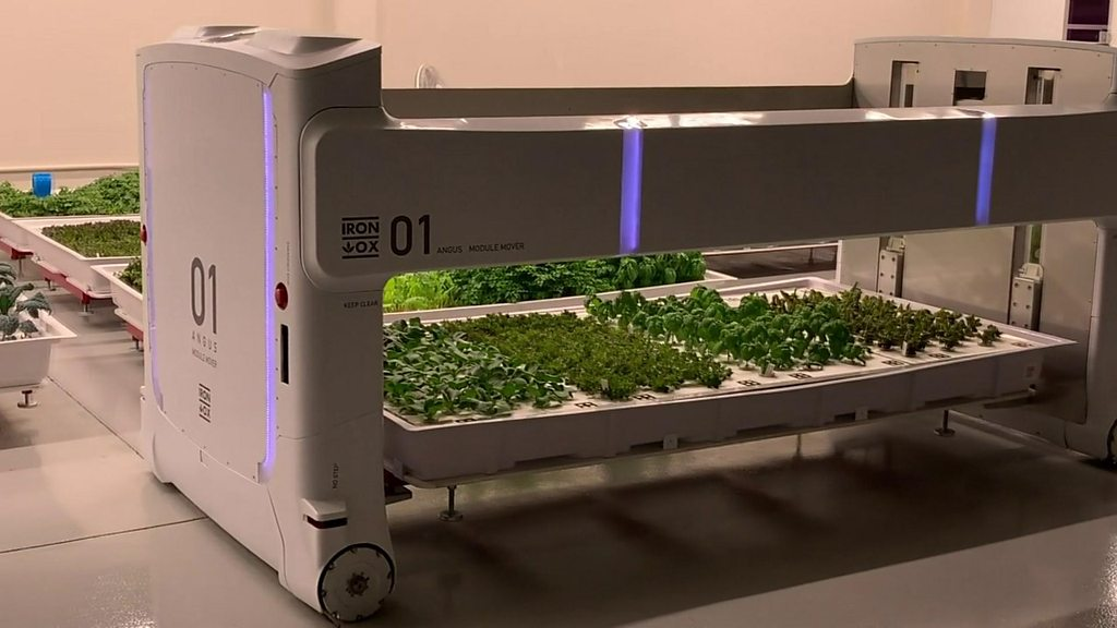 The world's first fully-autonomous indoor farm