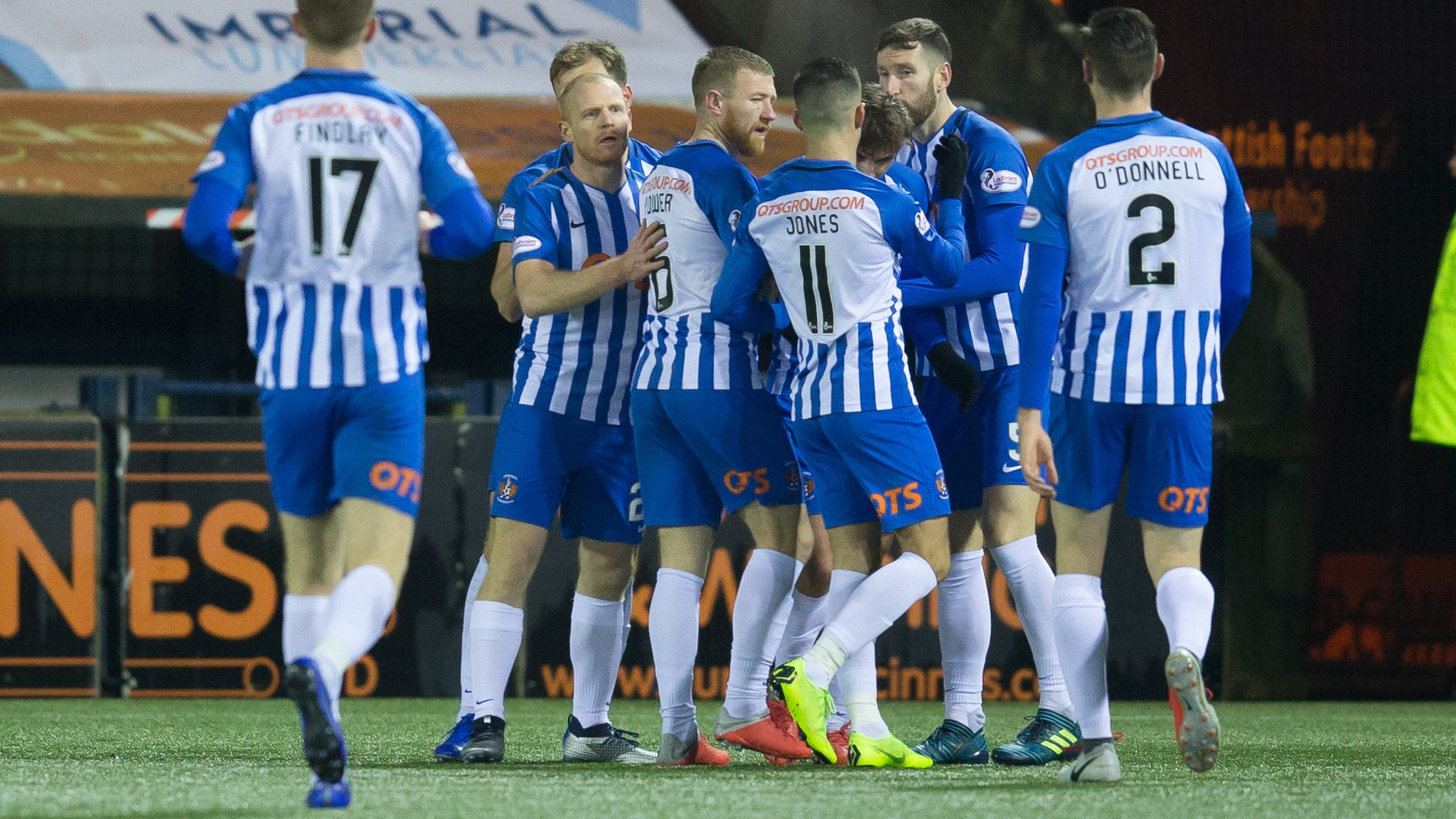 Kilmarnock contemplate new pitch at Rugby Park