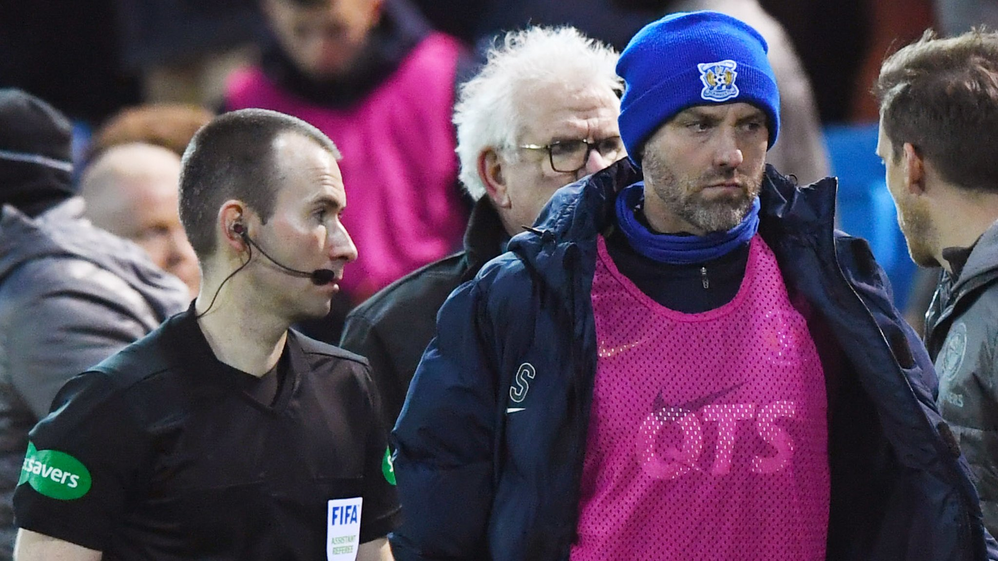Celtic fans lambasted by Kilmarnock's Kris Boyd after coin throwing and 'sectarian' abuse