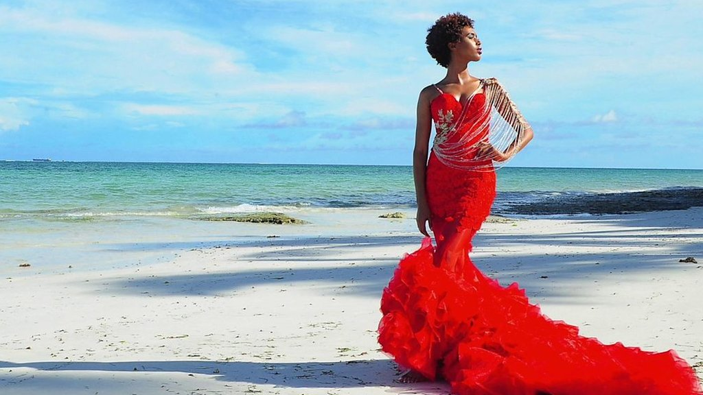 Coloured wedding dresses are on trend: Designer Ogake Mosomi