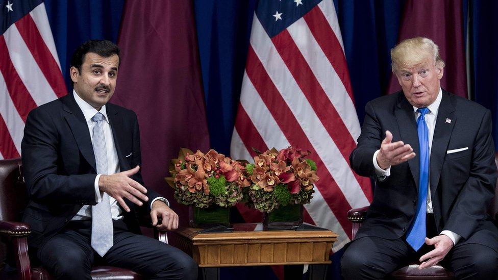 ترامب: النزاع بين قطر والدول العربية سيجد طريقه للحل قريبا
