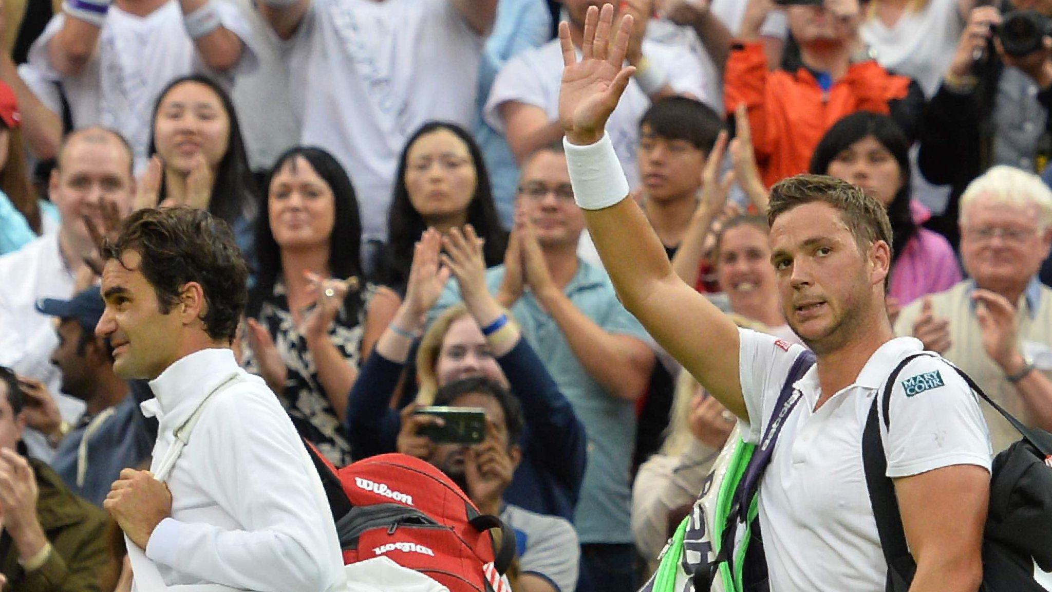 Wimbledon 2016: Roger Federer beats British qualifier Marcus Willis