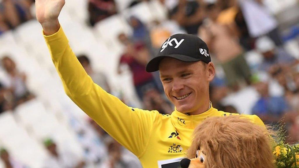 Tour de France 2017: Chris Froome puts success down to 'conservative but efficient' tactics