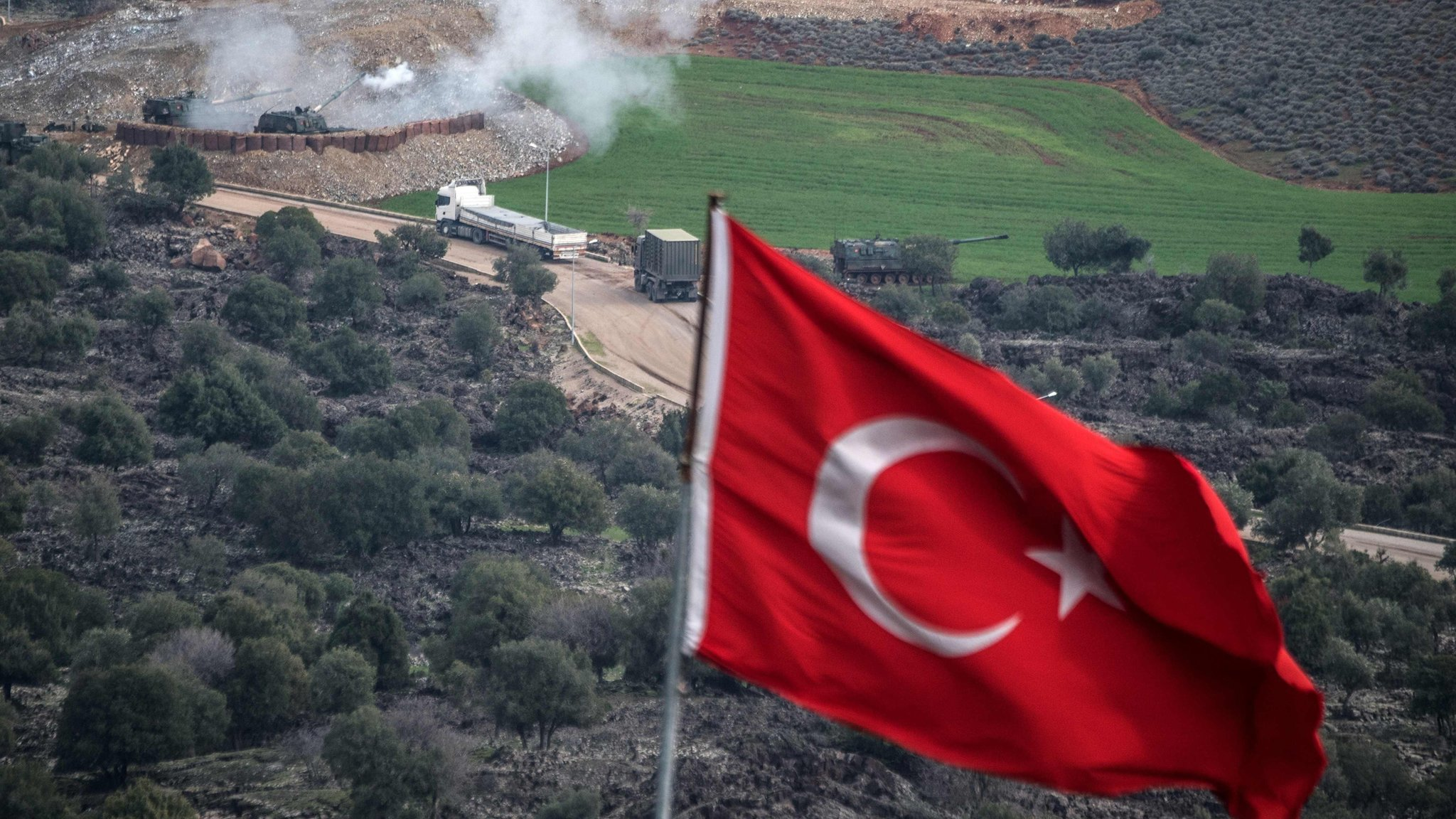 Syria: Turkey says ground troops moved in on Afrin