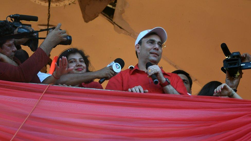 Luis Zelaya, del Partido Liberal