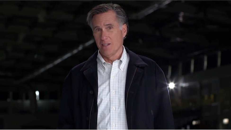 Mitt Romney launches Utah Senate campaign with dig at Trump