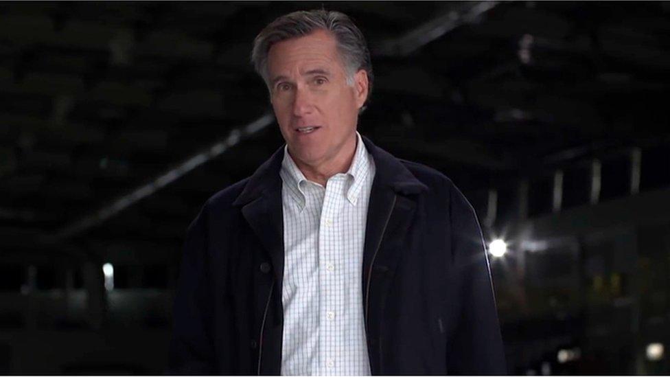 Mitt Romney launches Utah Senate campaign with dig at Trump