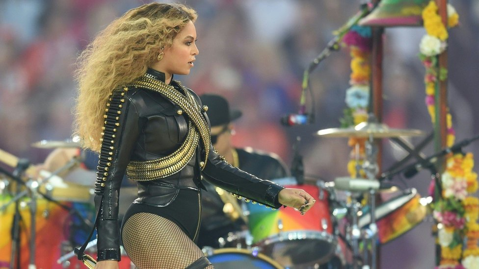 Why was Beyonce's Super Bowl show significant?