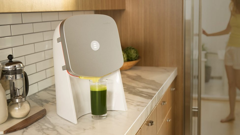 Wi-fi connected 'smart' juicer criticised