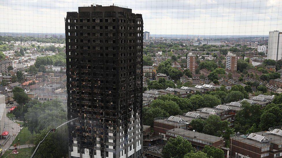 倫敦大火。(BBC中文網)