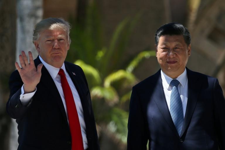 Trump y Xi en Florida