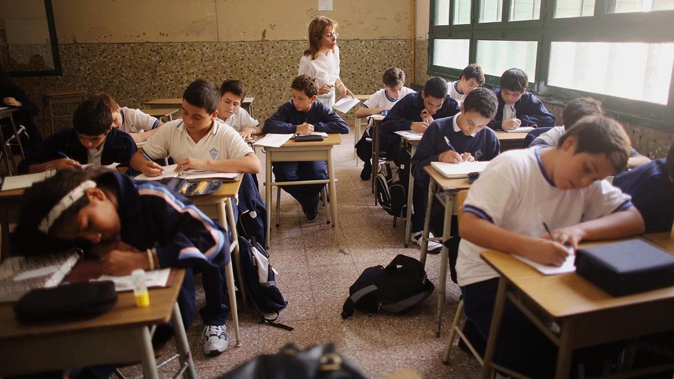 Según la evaluación, siete de cada diez estudiantes que terminan la secundaria en Argentina no tienen buenos conocimientos de matemáticas.