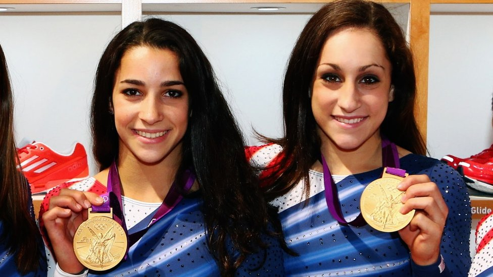 Nassar case: Gold medallists Raisman and Wieber face abuser