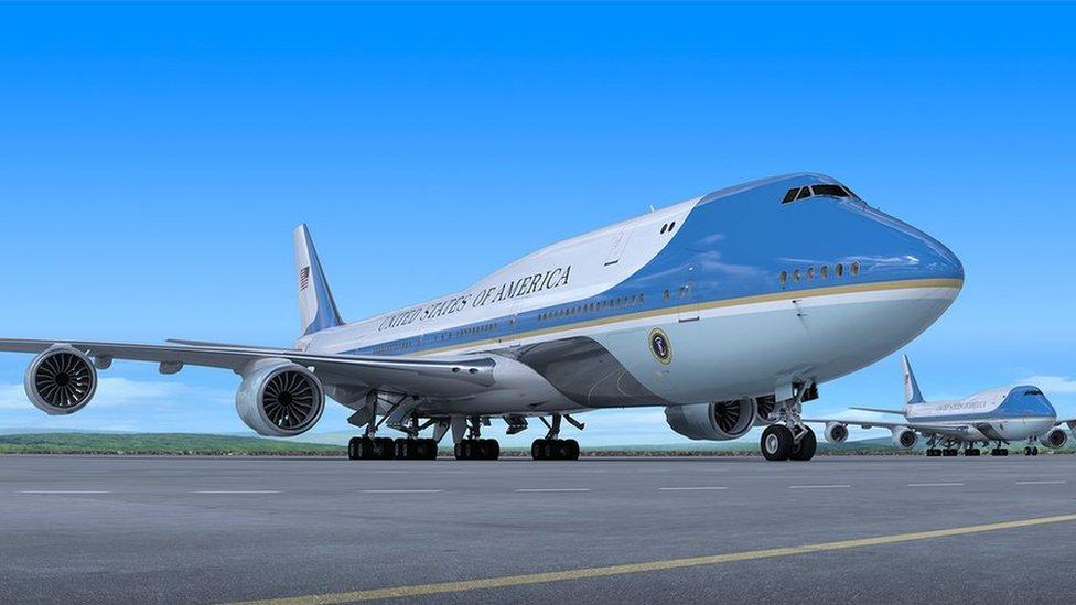 Esta imagen divulgada por Boeing muestra cómo será el próximo Air Force One.