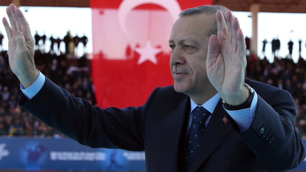 Erdogan vows Turkey will 'review relations with EU'