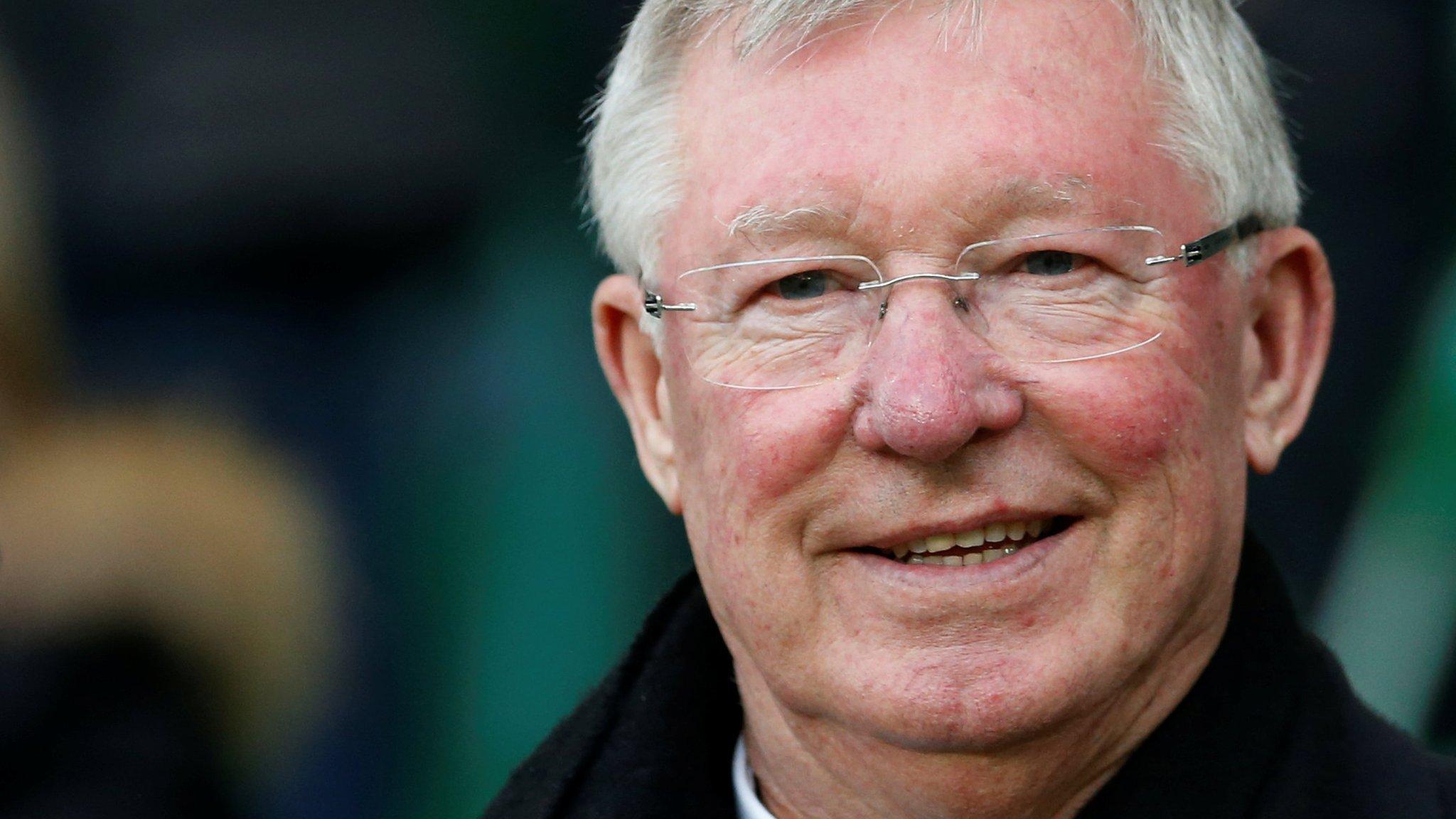 Ex-Man Utd boss Ferguson remains in intensive care