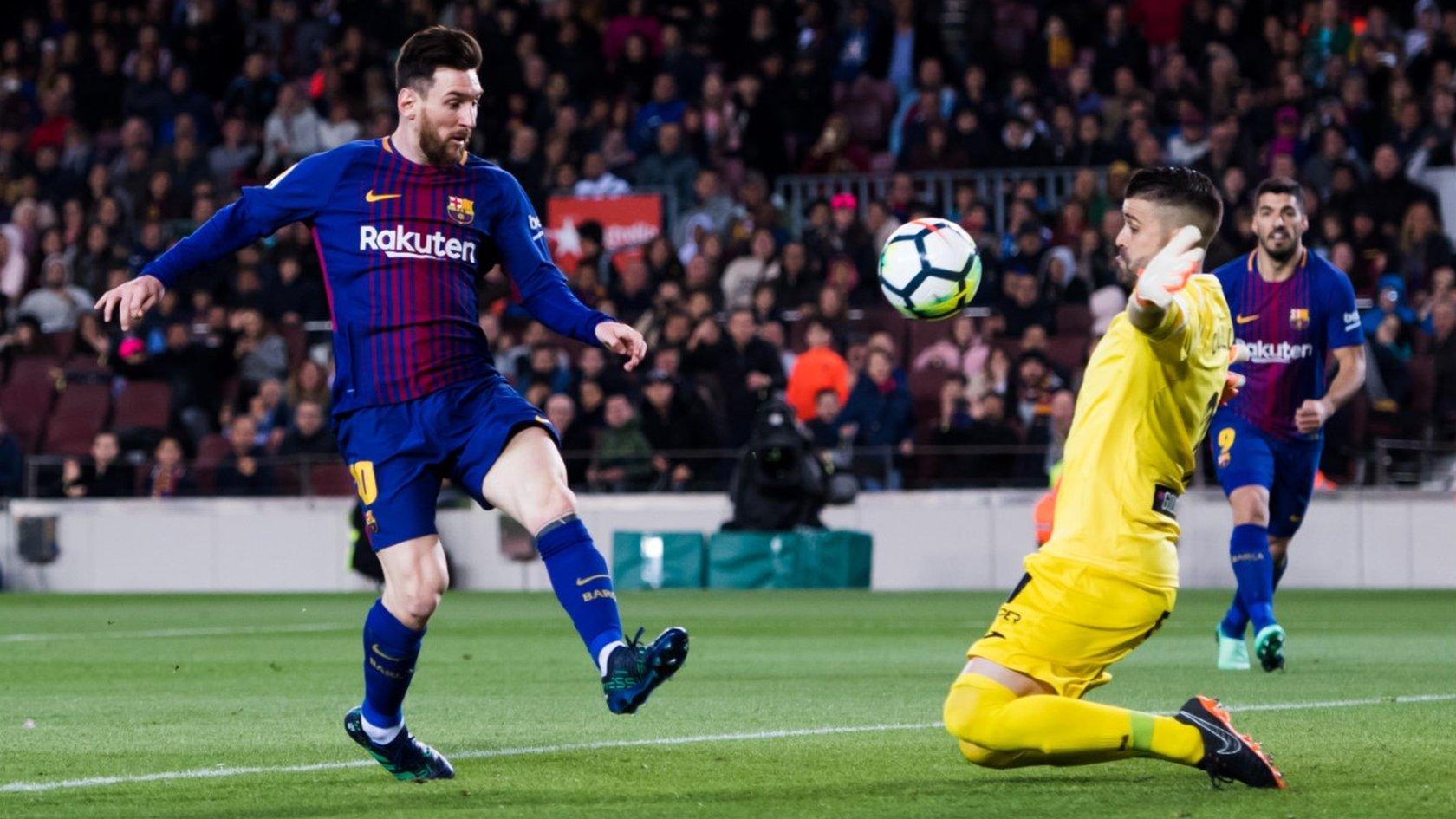 FC Barcelona reports record revenues | BBC