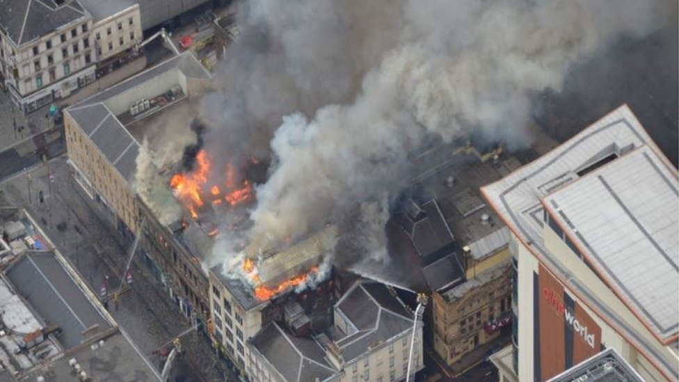 Pavilion Theatre saved after 'inferno' in Glasgow nightclub block