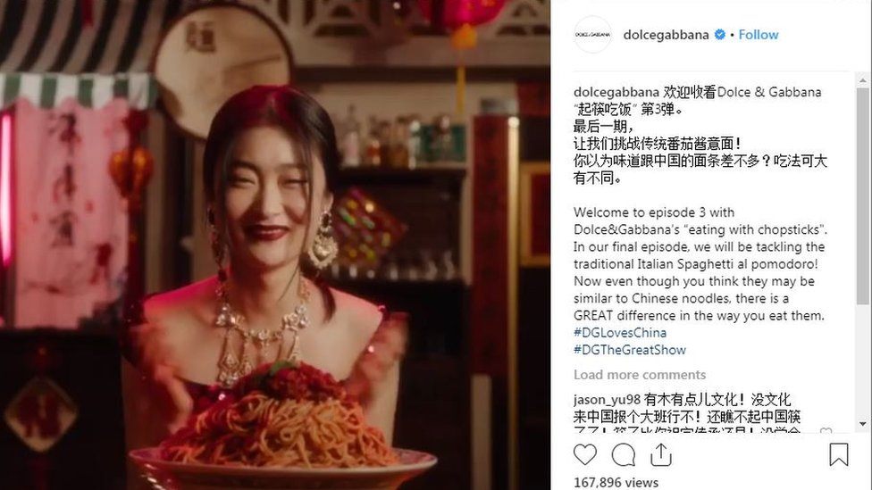 'Racist' D&G ad: Chinese model says campaign ruined her career