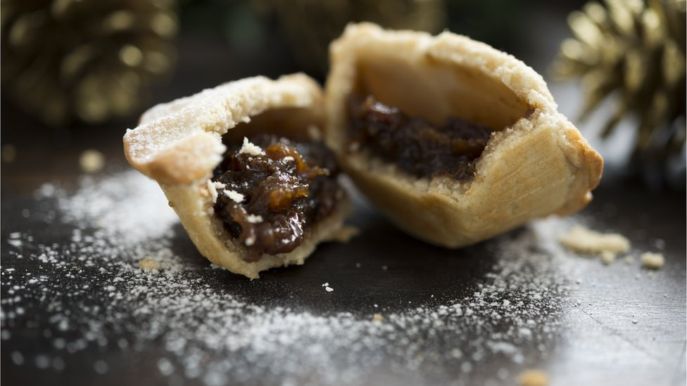Are mince pies too boozy for children?