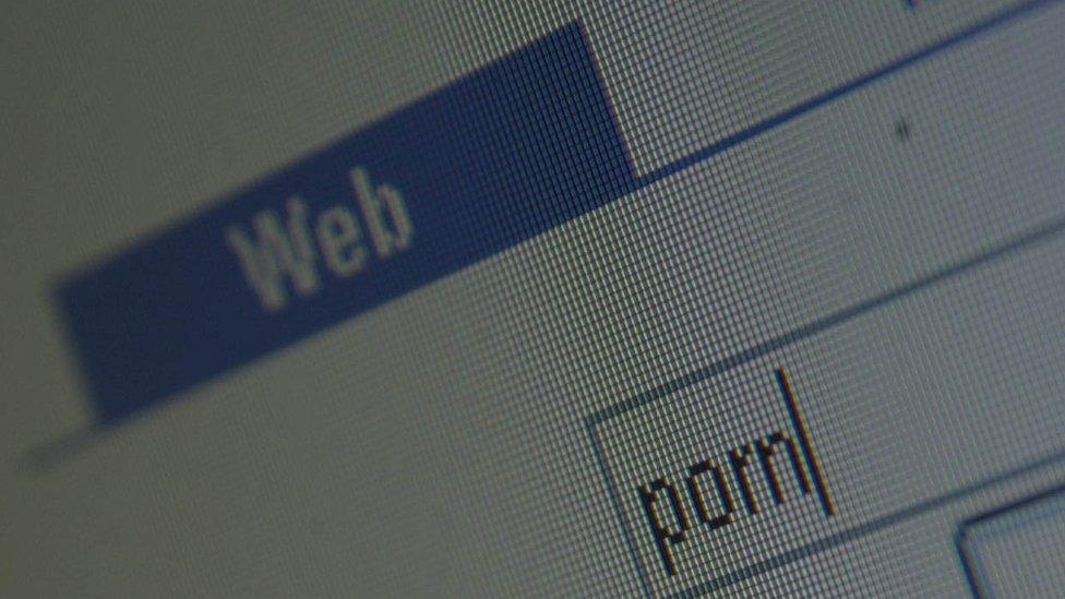 situs, internet, pornografi