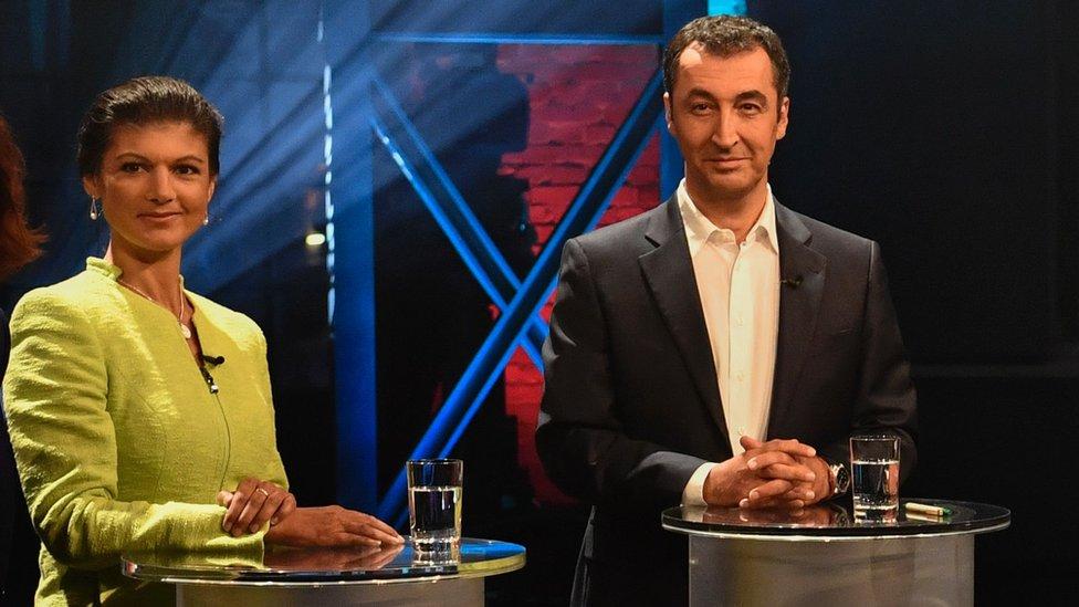 左翼黨的瓦根克內希特及綠黨的歐茲德米爾