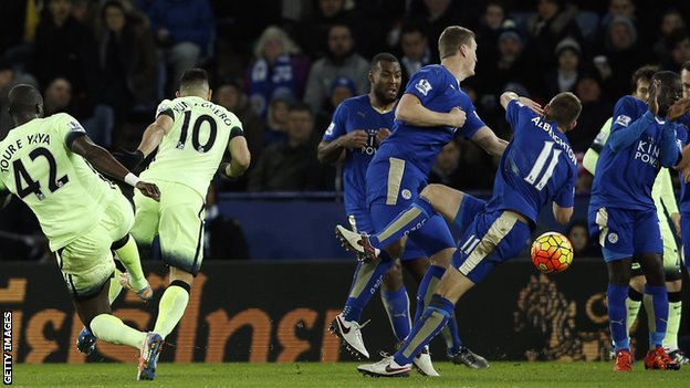 Video: Leicester City vs Manchester City