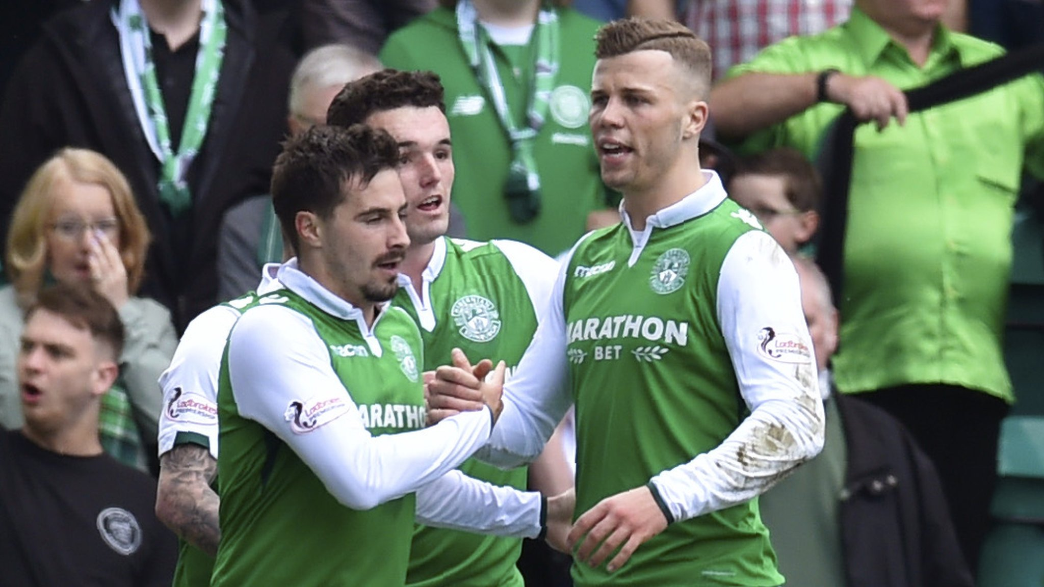 Celtic miss chance to seal title with defeat at Hibs