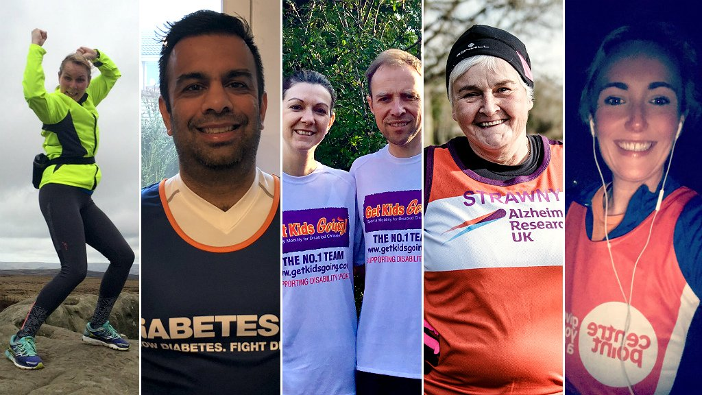 London Marathon: Five inspiring stories from runners taking part | BBC